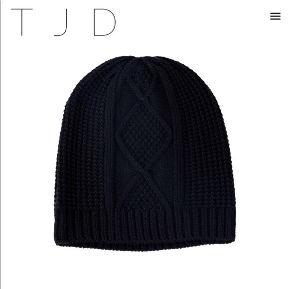 The Jetset Diaries Black Cable Knit Beanie. M 5a69623c33162797092f22cf 0529f7f653c